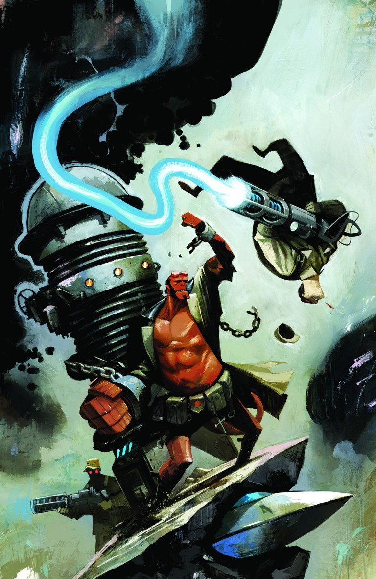Hellboy And The B.P.R.D. 1954 The Black Sun #2 (Mike Huddleston Cover)