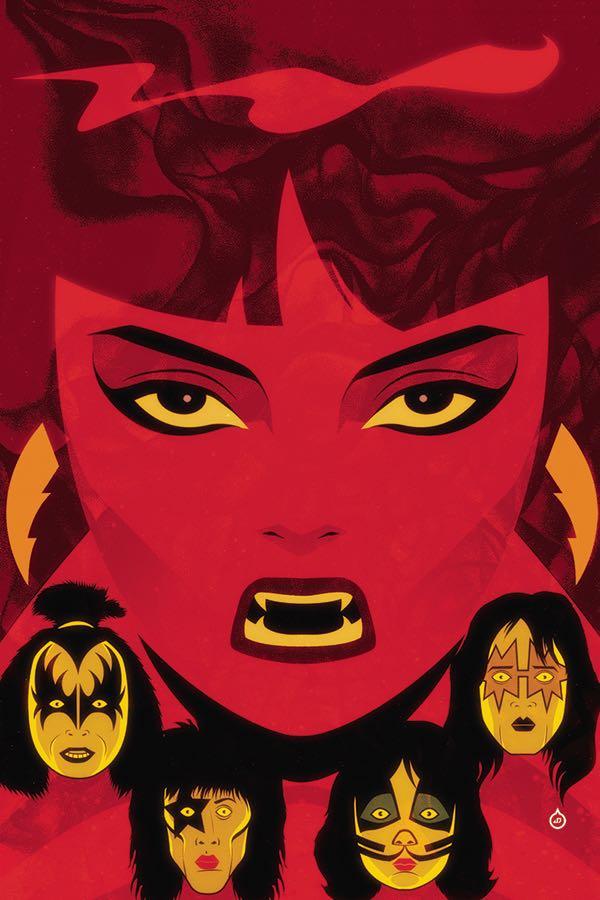 KISS Vampirella #1 (Cover I Juan Doe Virgin Variant)