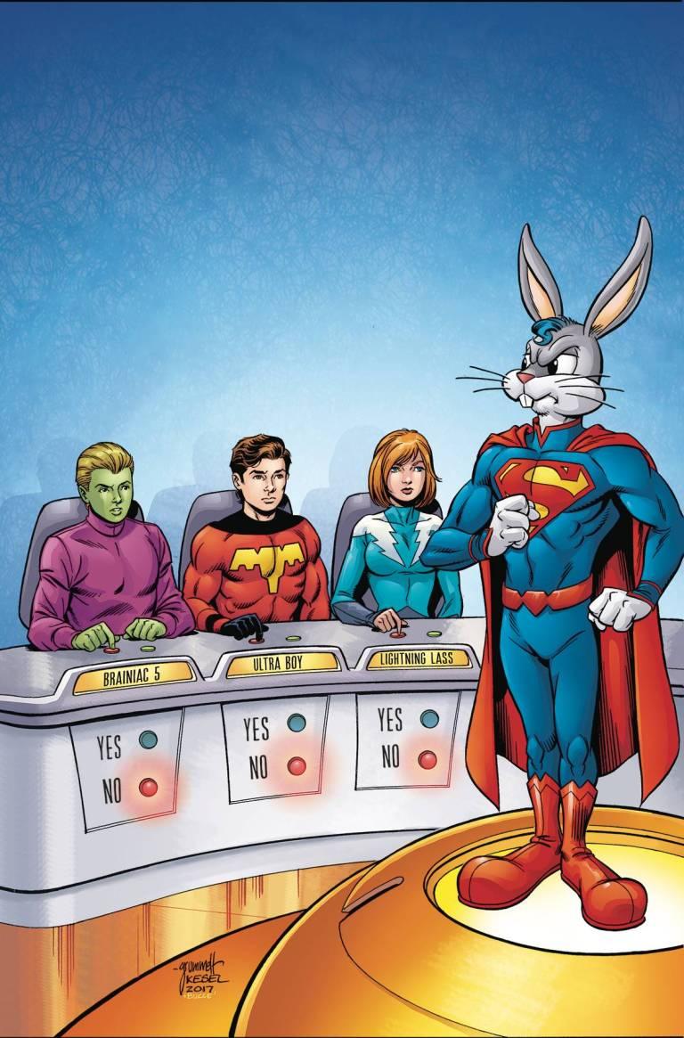 Legion Of Super-Heroes Bugs Bunny Special #1 (Cover A Tom Grummett & Karl Kessel)