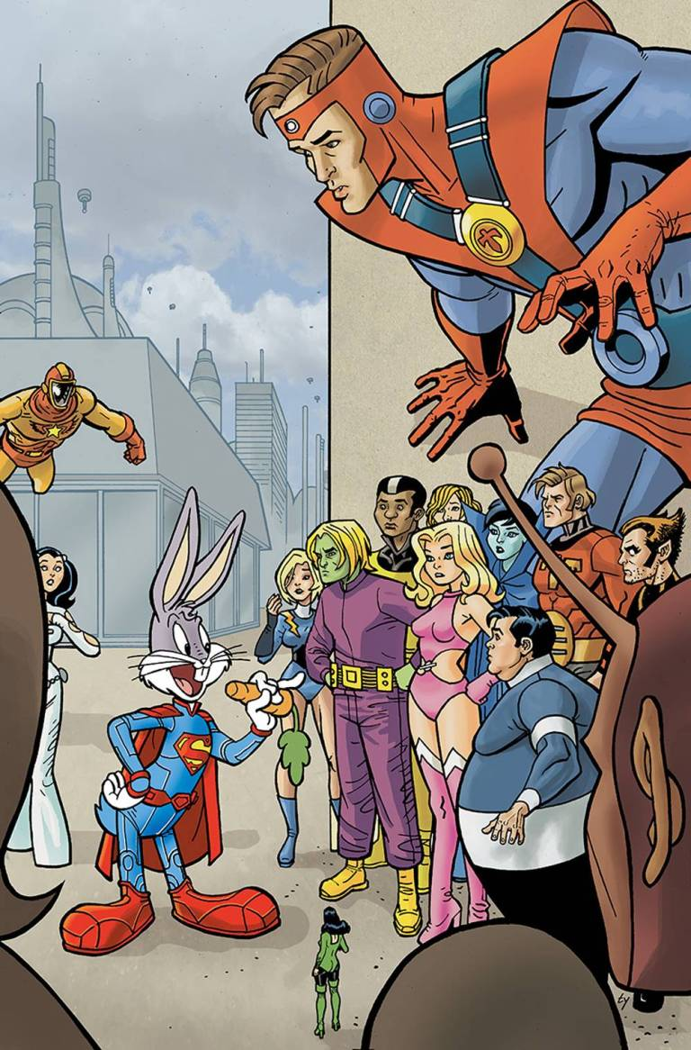 Legion Of Super-Heroes Bugs Bunny Special #1 (Cover B Ty Templeton)