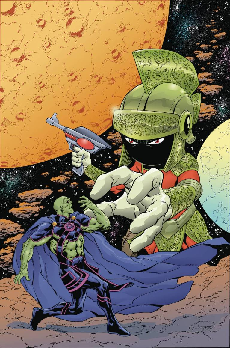 Martian Manhunter Marvin The Martian Special #1 (Cover A Aaron Lopresti)