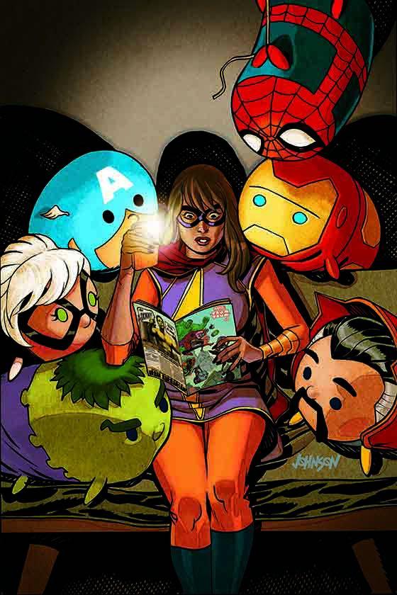 Marvel Tsum Tsum #4 (Dave Johnson Variant Cover)