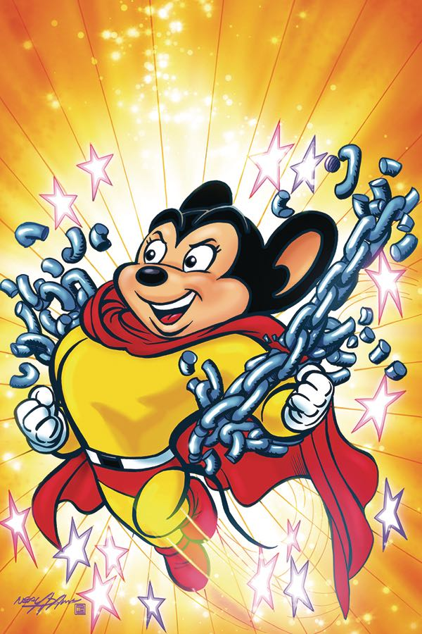 Mighty Mouse #1 (Cover G Neal Adams Virgin Variant)