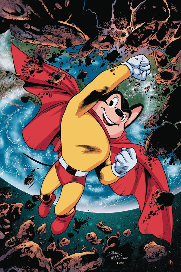 Mighty Mouse #1 (Cover I Igor Lima Virgin Variant)