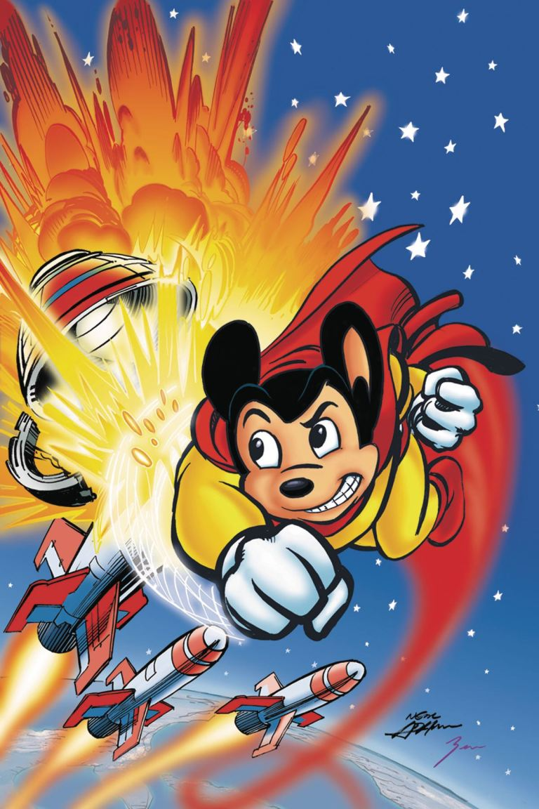 Mighty Mouse #2 (Cover E Neal Adams Virgin Variant)