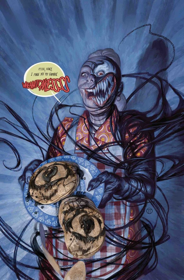 Peter Parker The Spectacular Spider-Man #4 (Cover B Julian Totino Venomized Aunt May Variant)