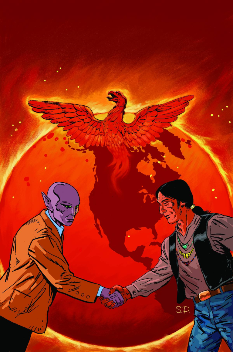 Resident Alien The Man With No Name #2 (Steve Parkhouse Cover)
