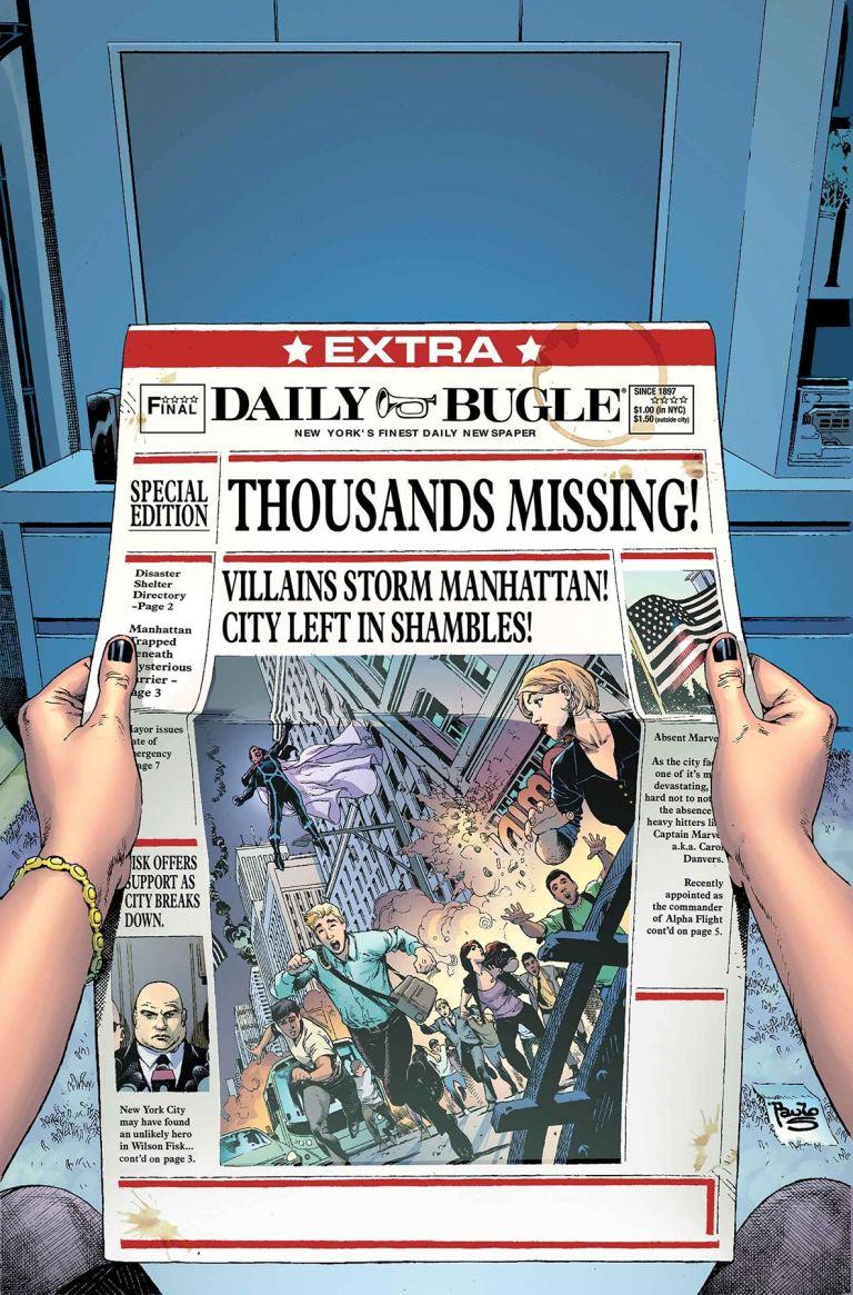 Secret Empire Brave New World #3 (Cover A Paulo Sequiera)