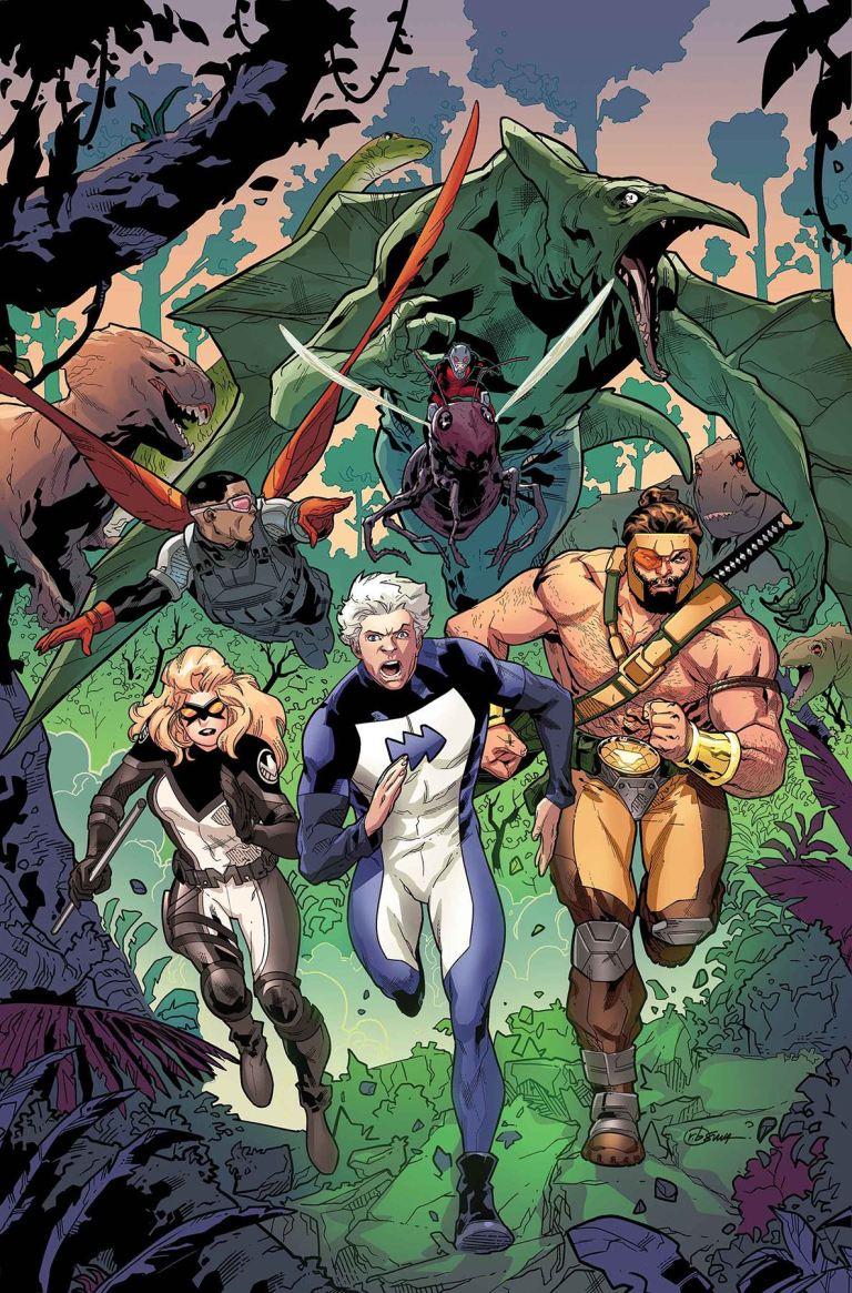 Secret Empire Underground #1 (Cover A R. B. Silva)