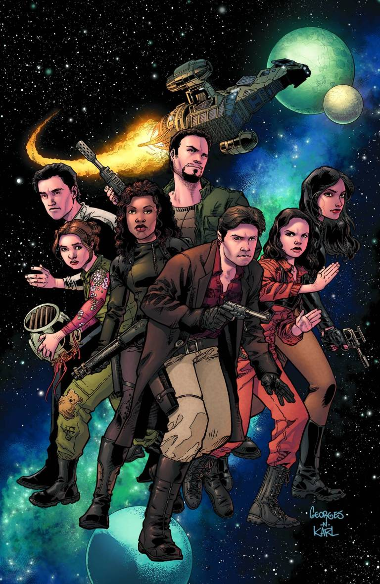 Serenity No Power In The 'Verse #1 (Of 6)(Cover B Georges Jeanty)