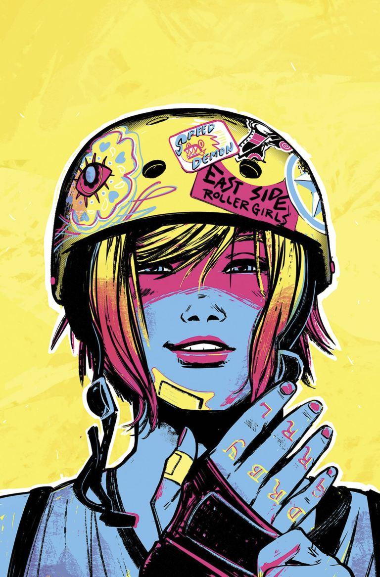SLAM! #5 (Veronica Fish Cover)
