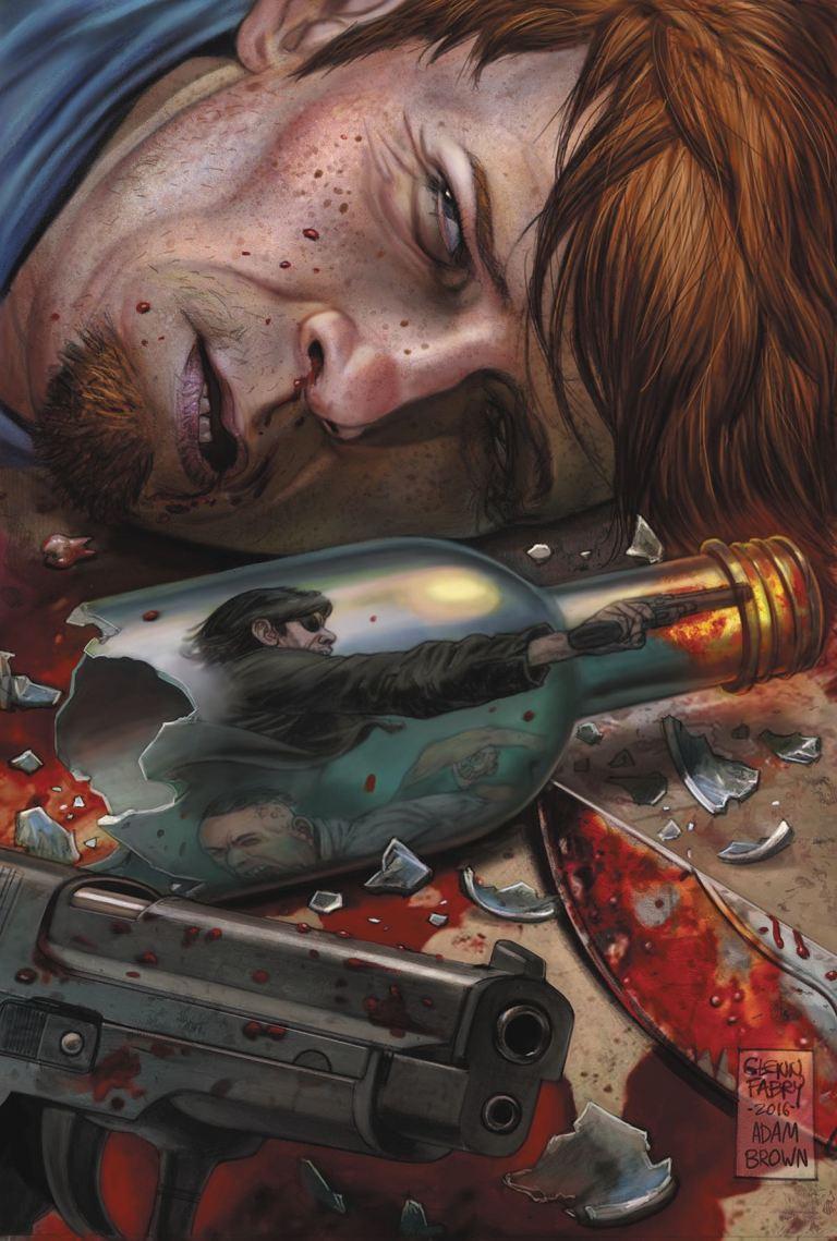Slayer Repentless #3 (Glenn Fabry & Adam Brown Cover)