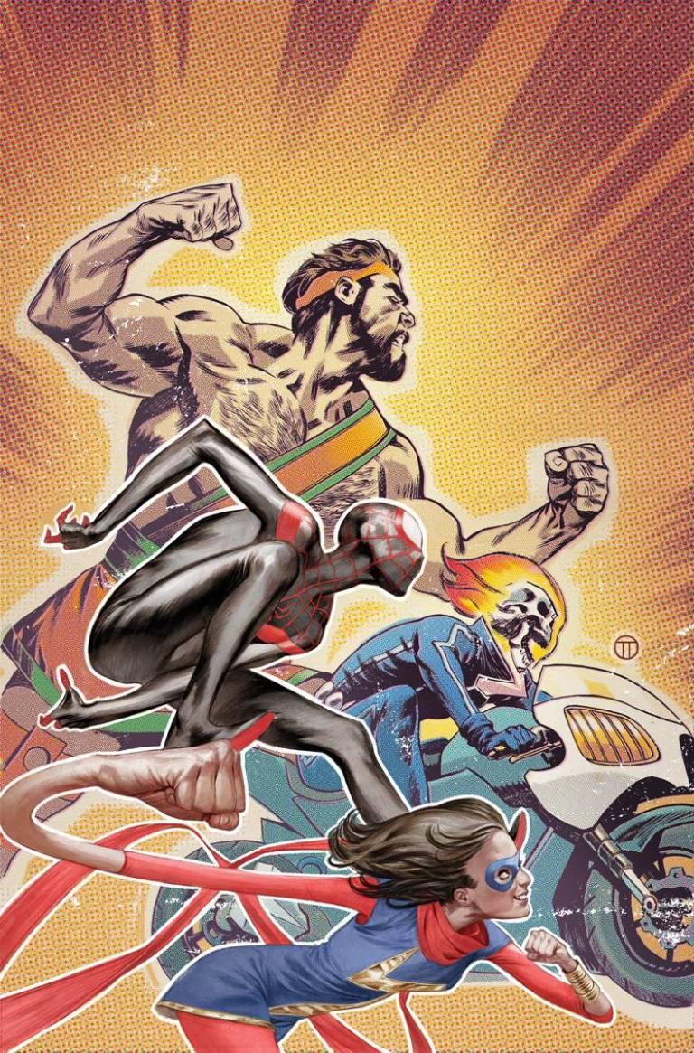 Solo #1 (Julian Totino Champions Variant Cover)