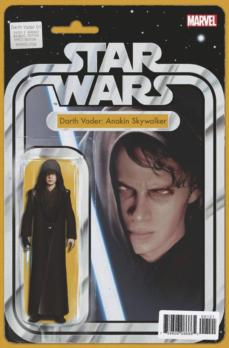 Star Wars Darth Vader #1 (Cover F John Tyler Christopher Action Figure Variant)