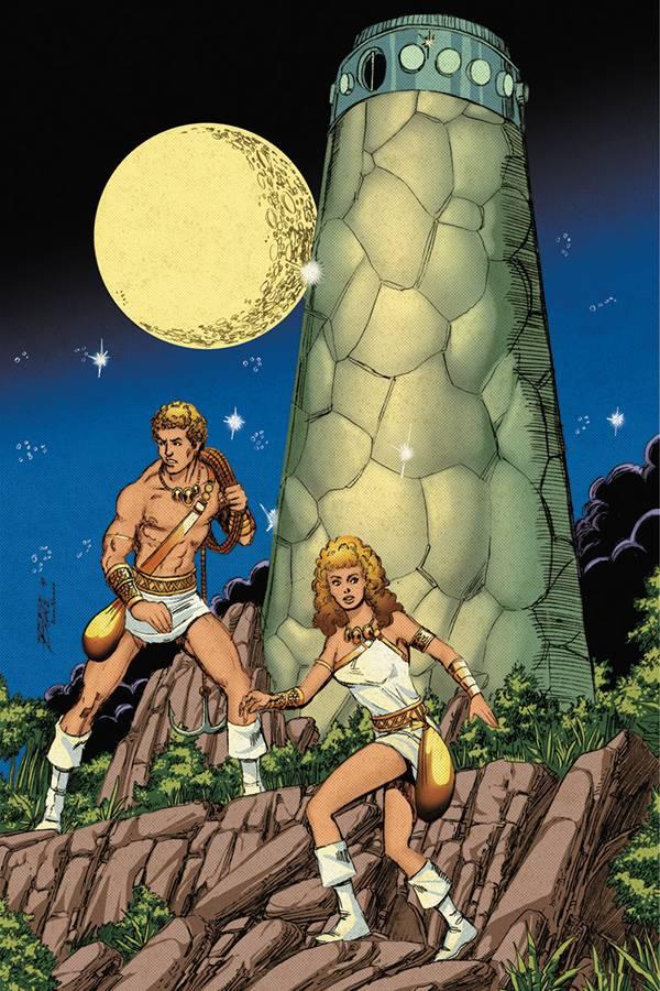 Swordquest #1 (Cover H George Perez Virgin Variant)