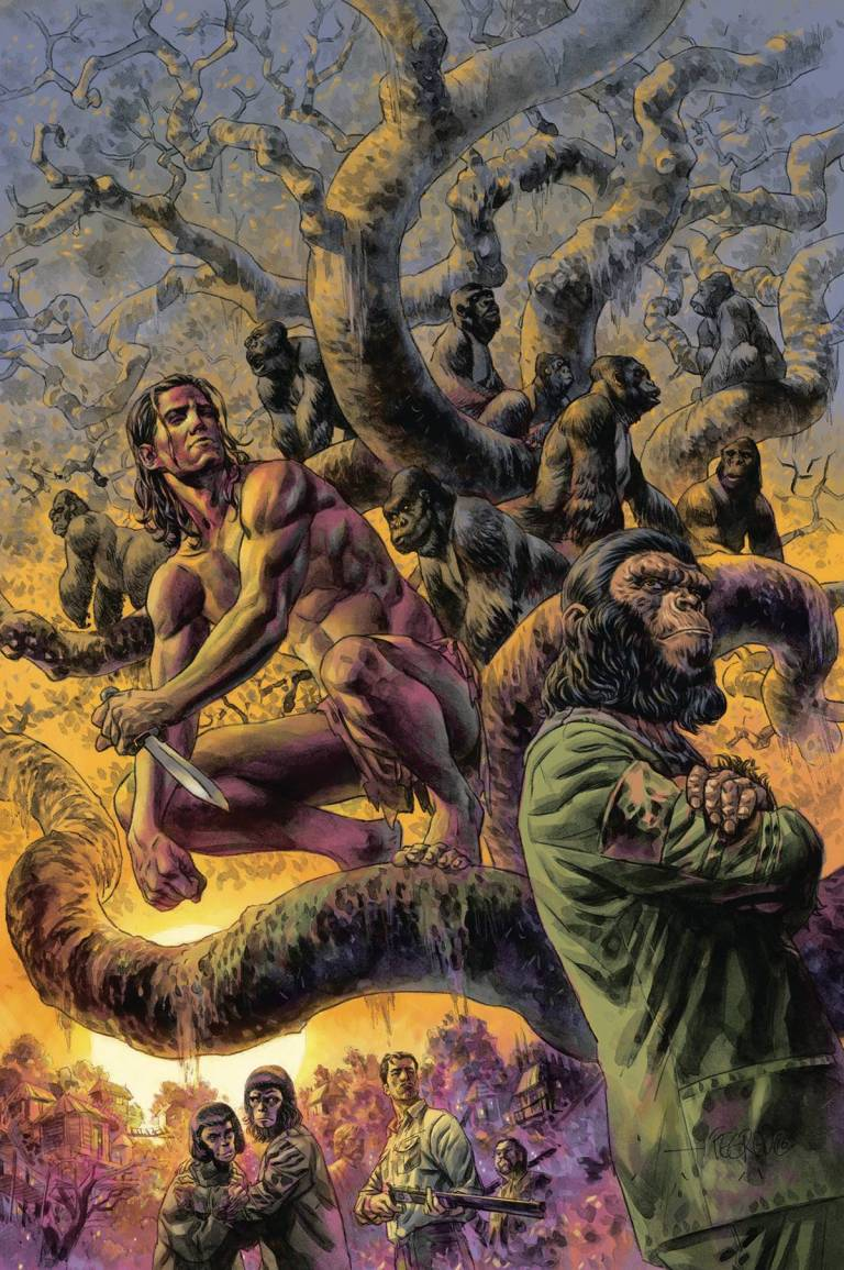 Tarzan on The Planet of the Apes #1 (Duncan Fegredo Regular Cover)
