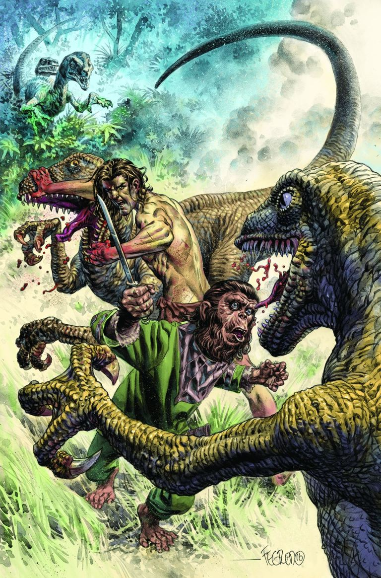 Tarzan on The Planet of the Apes #3 (Duncan Fegredo Regular Cover)