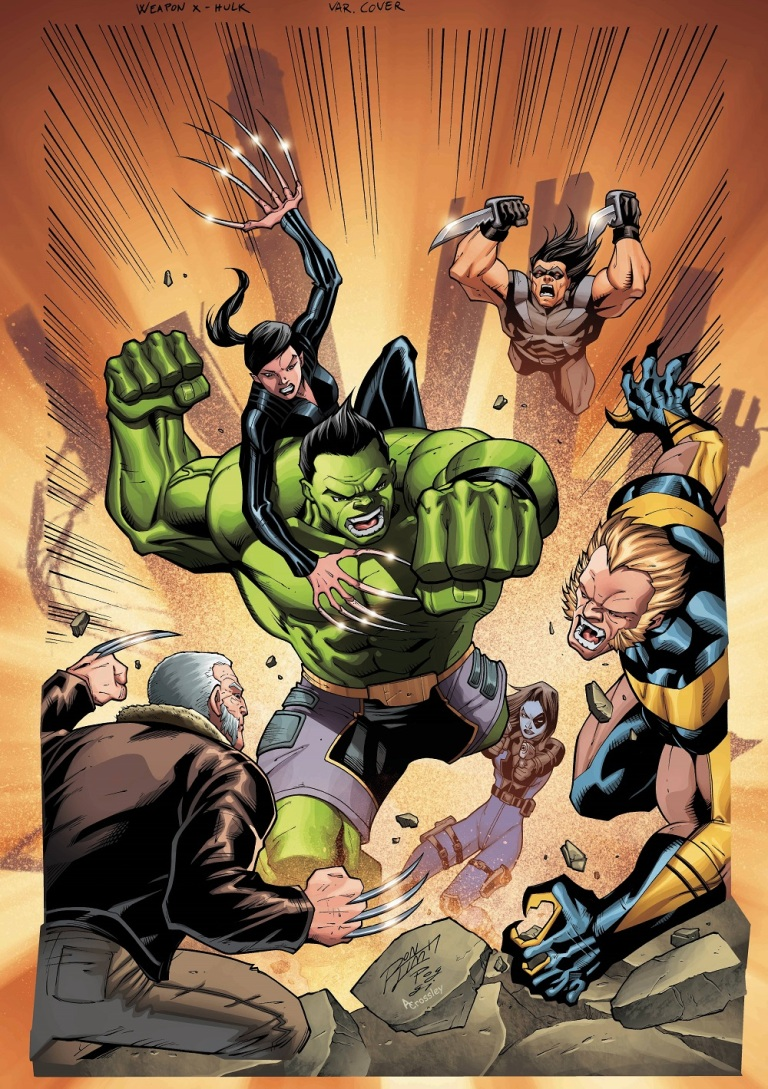 Weapons Of Mutant Destruction Alpha #1 (Cover B Ron Lim)