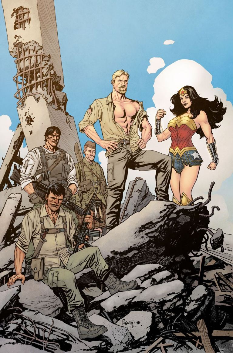 Wonder Woman Steve Trevor #1 (Cover B Yanick Paquette)