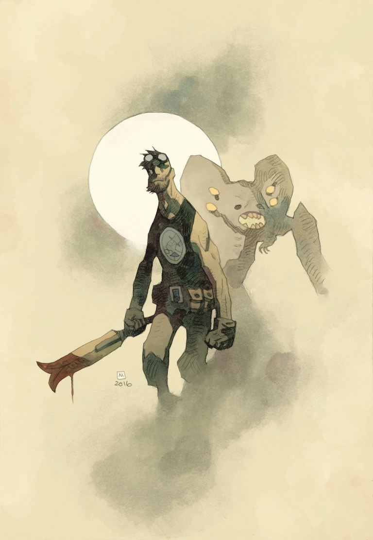 B.P.R.D. The Devil You Know #1 (Cover B Mike Mignola)