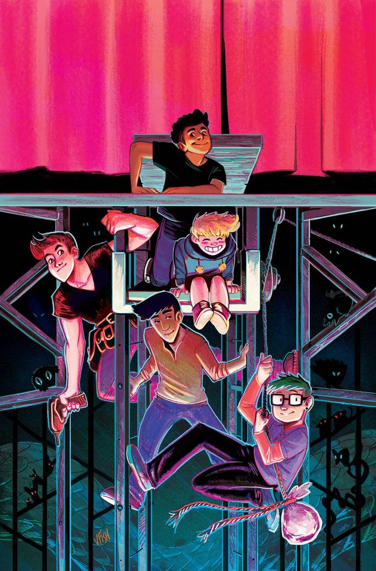 Backstagers #1 (Cover A Veronica Fish)