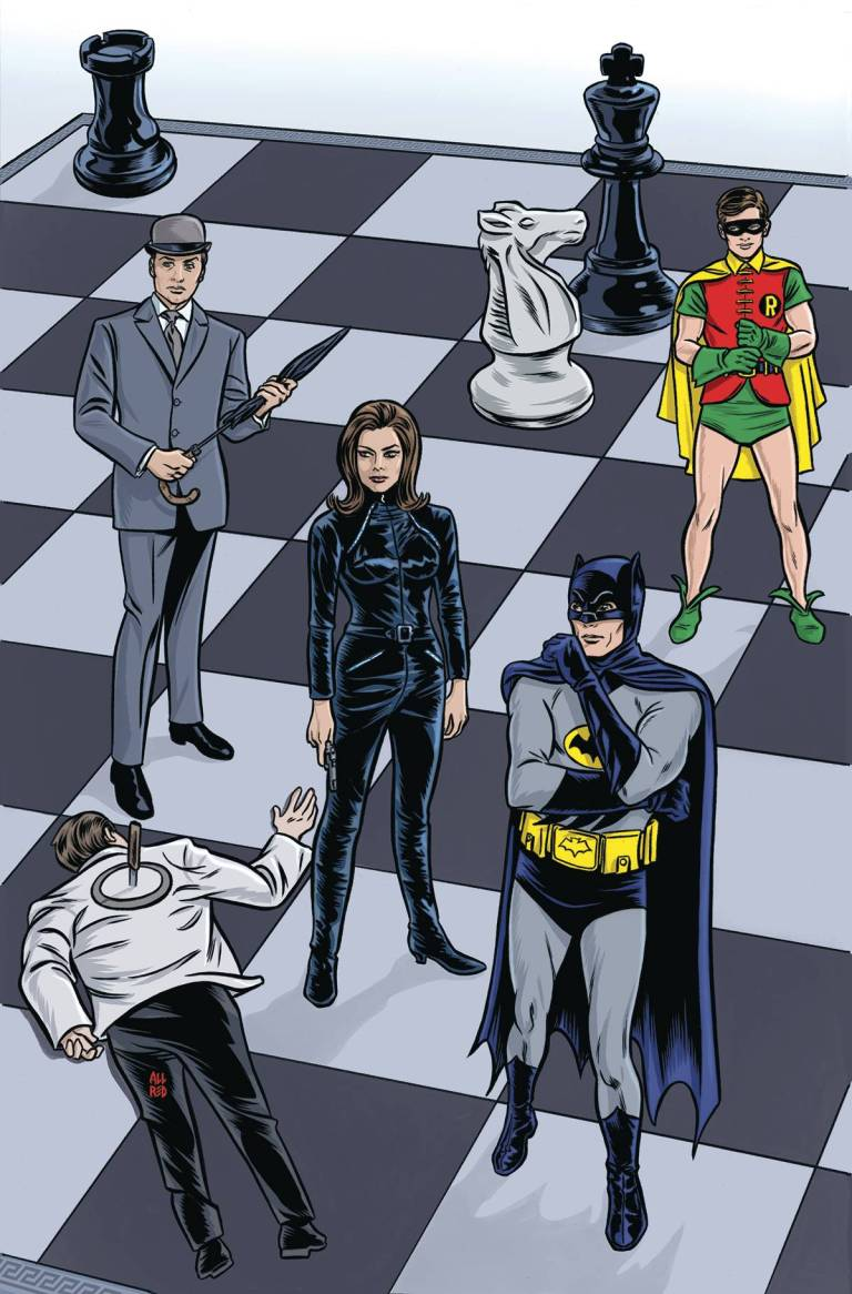 Batman '66 Meets Steed And Mrs Peel #1 (Cover A Michael Allred)