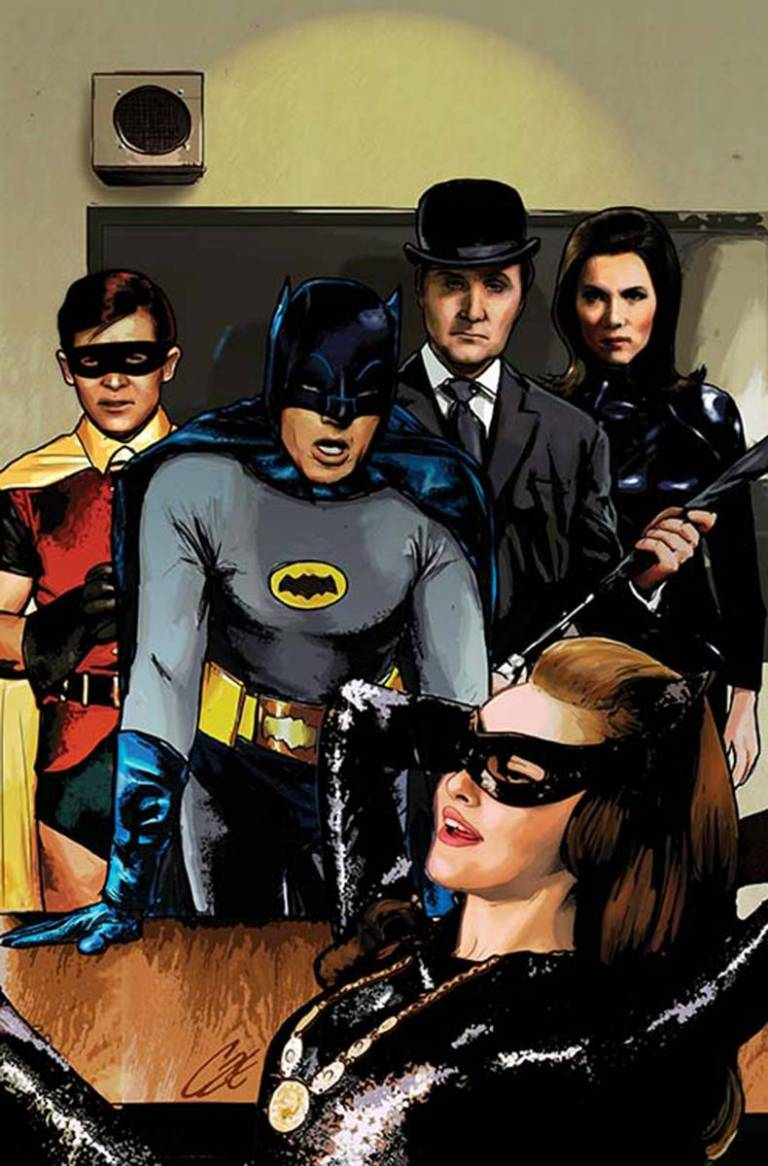 Batman '66 Meets Steed And Mrs Peel #1 (Cover B Cat Staggs)