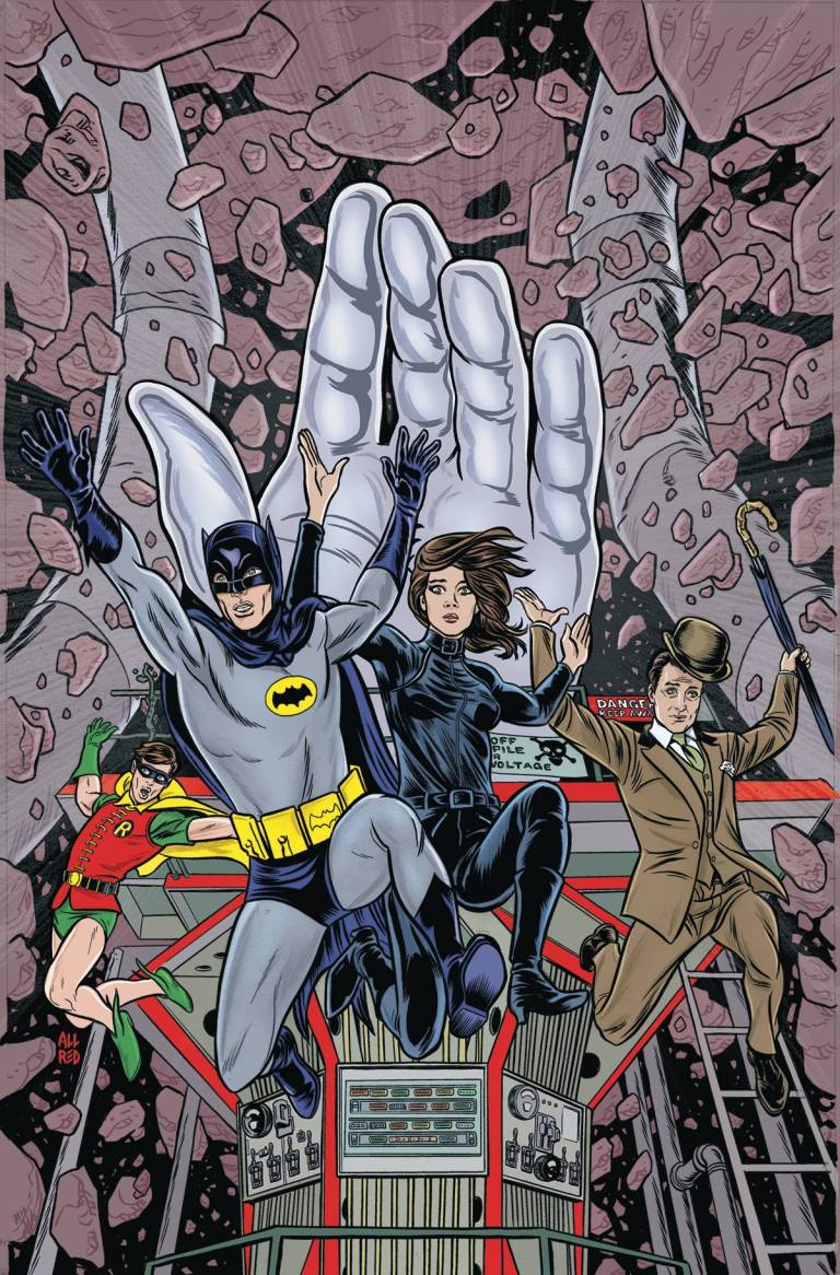 Batman '66 Meets Steed And Mrs. Peel #3 (Mike Allred Cover)