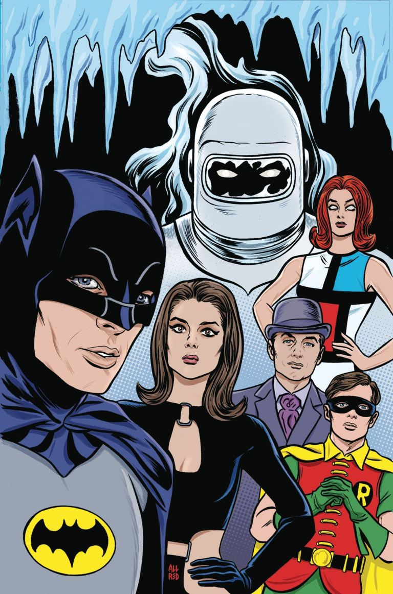 Batman '66 Meets Steed and Mrs. Peel #6 (Michael Allred Regular Cover)