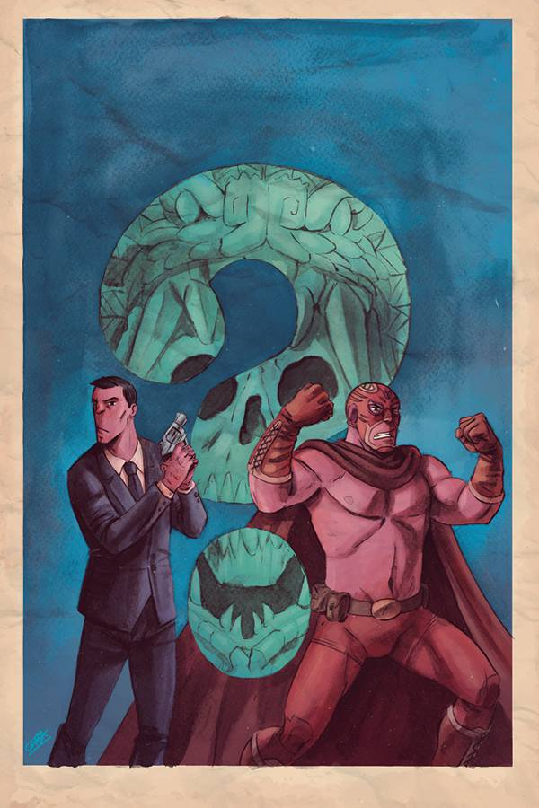Blood Brothers #1 (Cover B Javier Caba Virgin Variant)