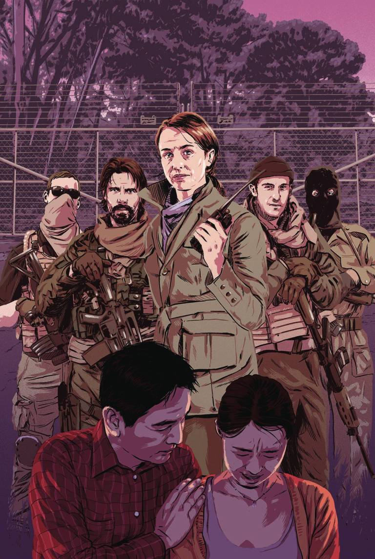 Briggs Land Lone Wolves #3 (Cover A Matthew Woodson)