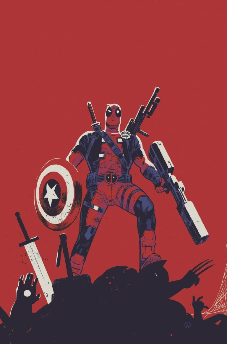 Deadpool Kills The Marvel Universe Again #1 (Cover B Michael Walsh)