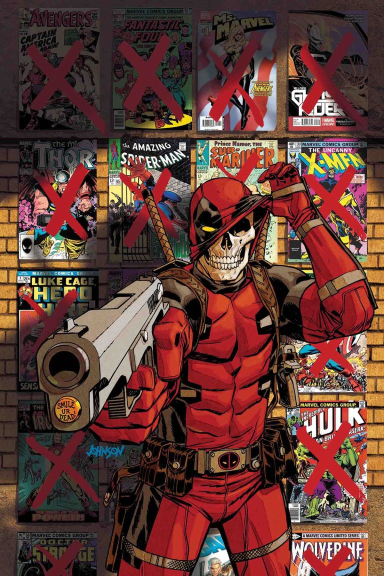 Deadpool Kills The Marvel Universe Again #5 (Cover A Dave Johnson)