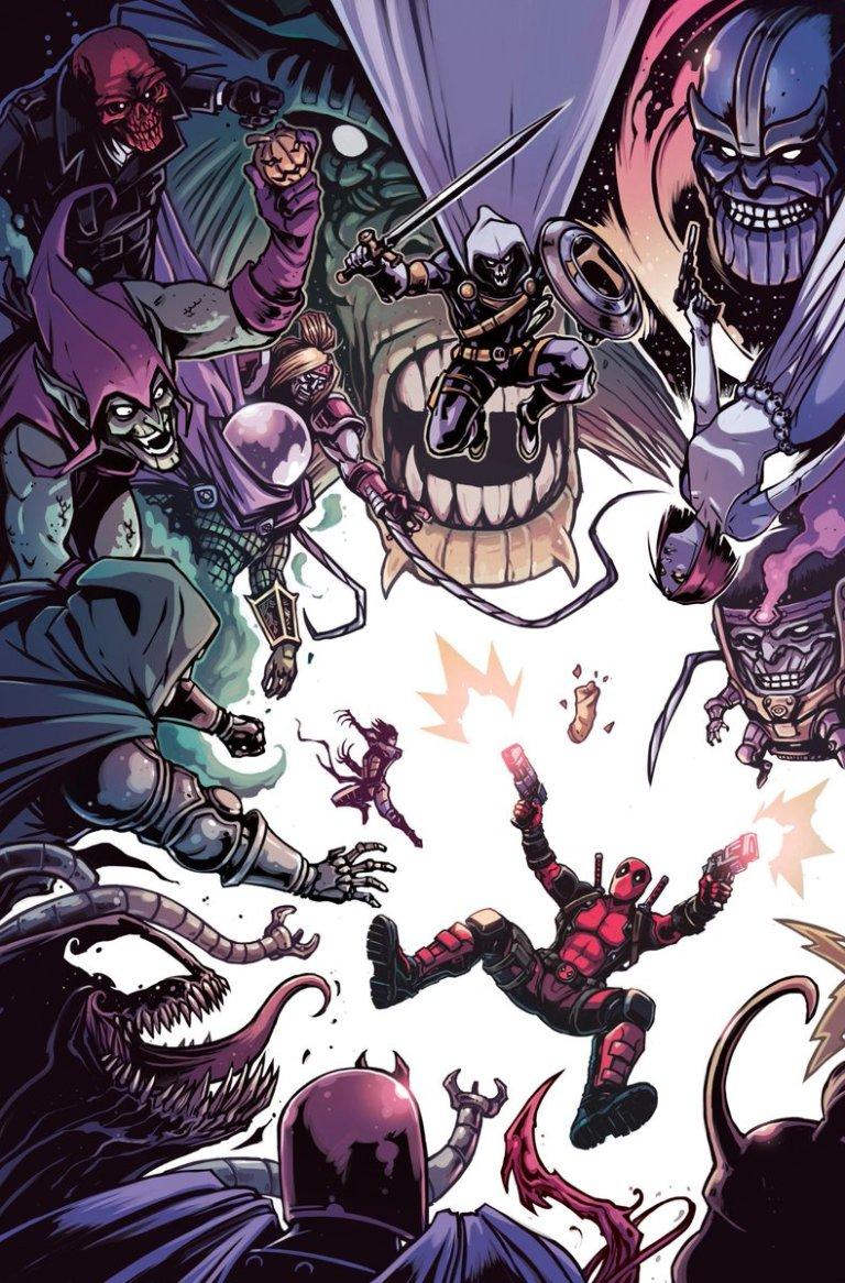 Deadpool Kills The Marvel Universe Again #5 (Cover B Caspar Wjingaard)