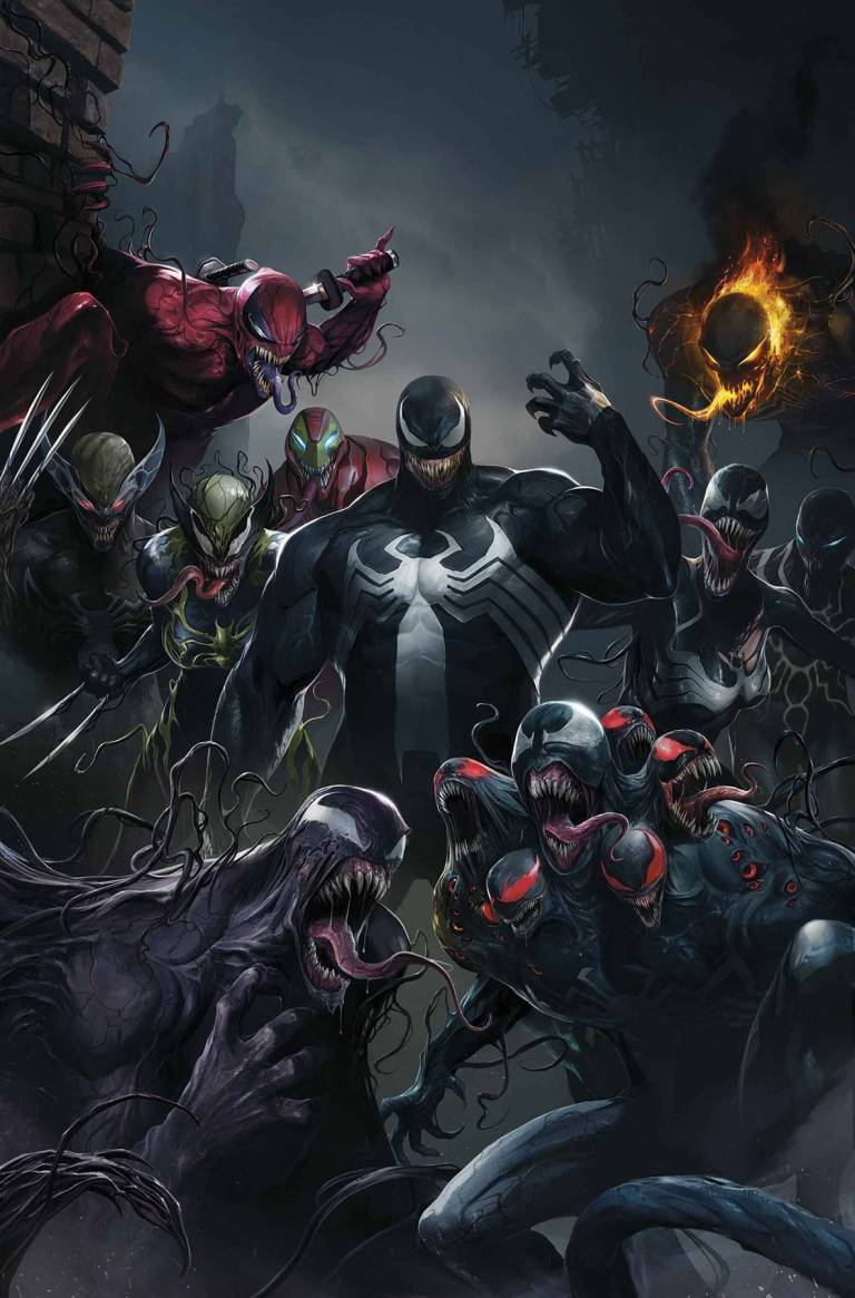 Edge Of Venomverse #1 (Cover C Francesco Mattina Teaser Variant)
