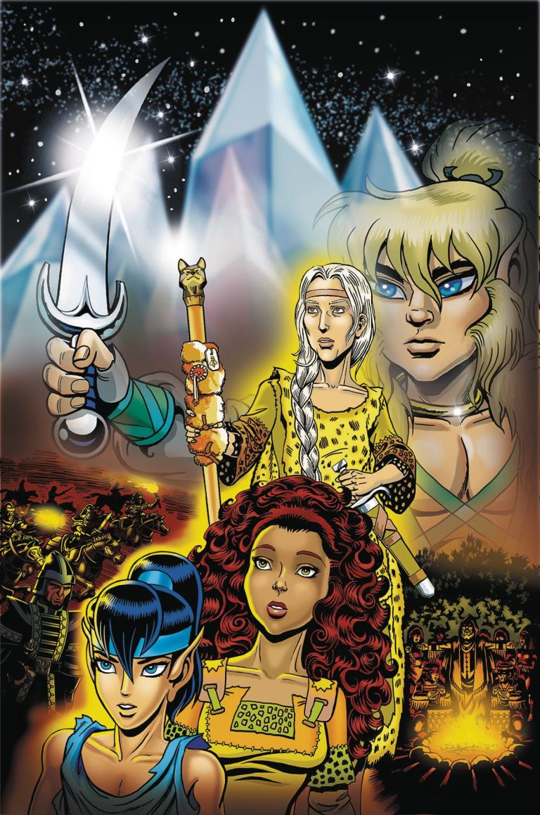 ElfQuest The Final Quest #19 (Wendy Pini Cover)
