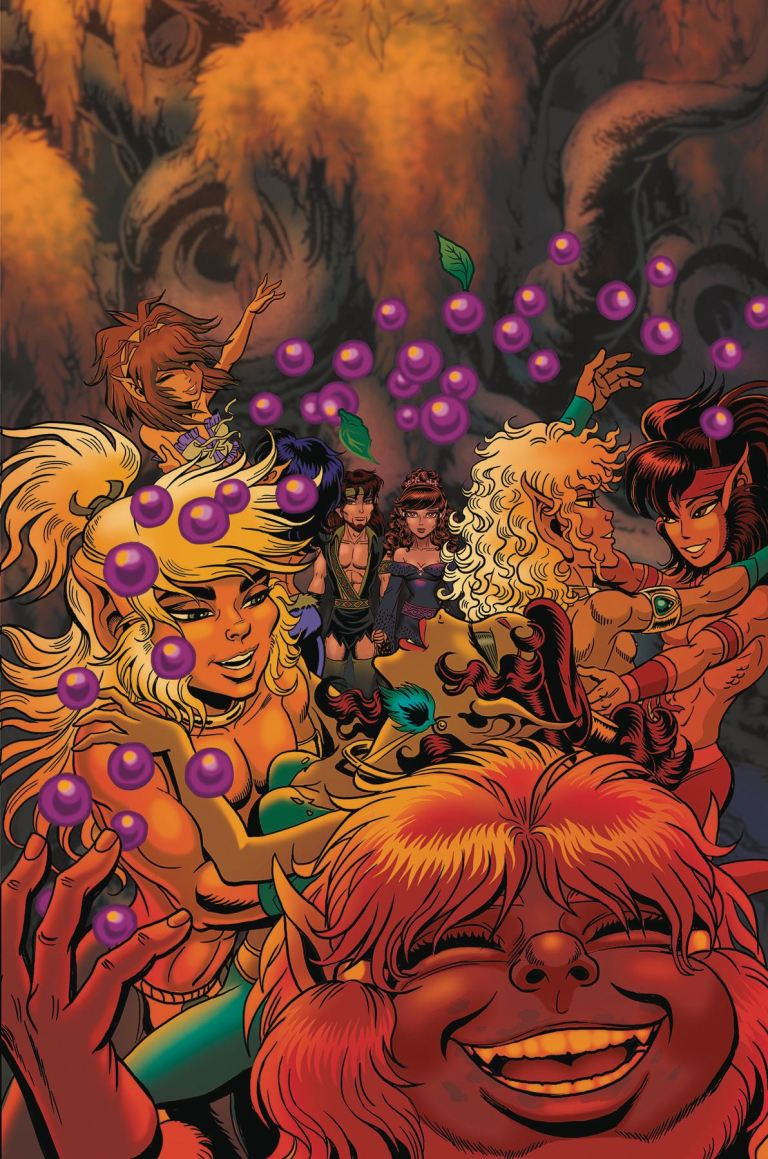 ElfQuest The Final Quest #20 (Wendy Pini Cover)