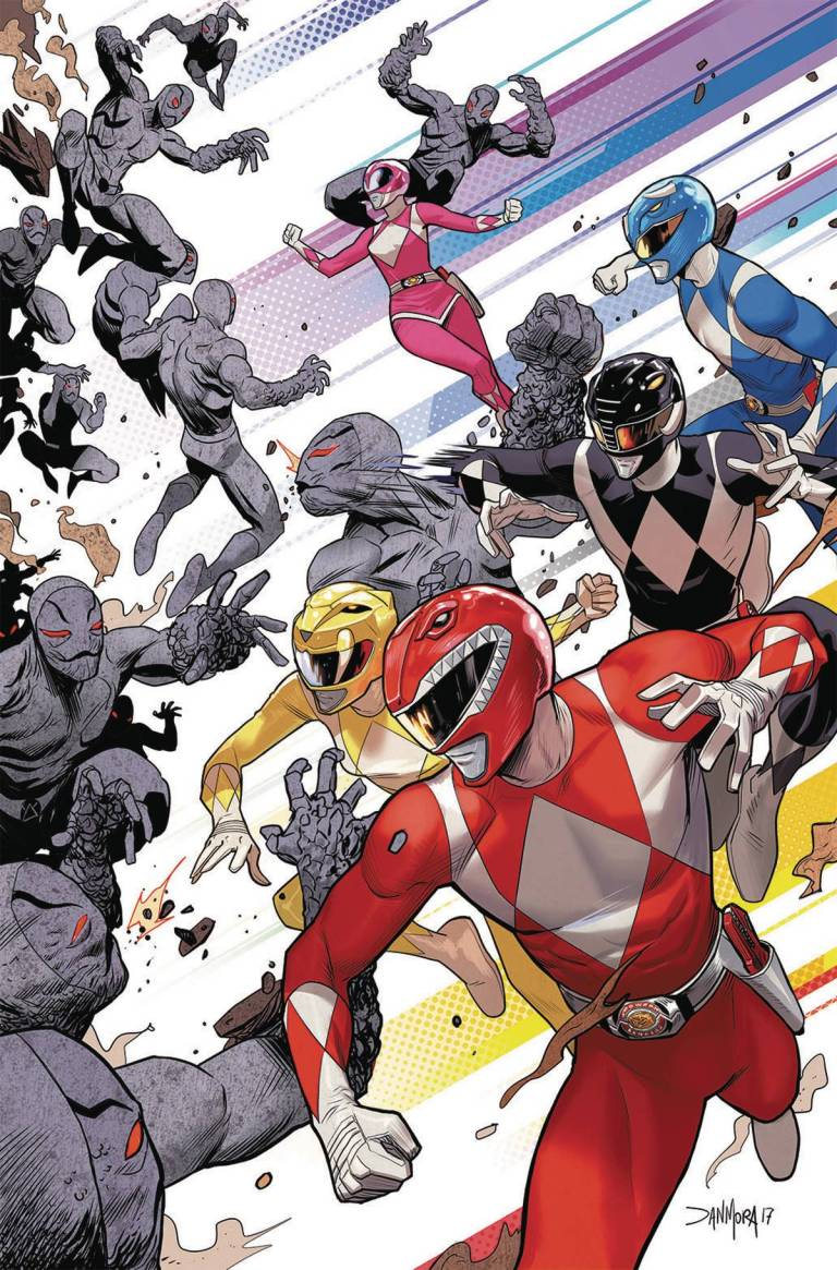 Go Go Power Rangers #1 (Cover E Dan Mora)