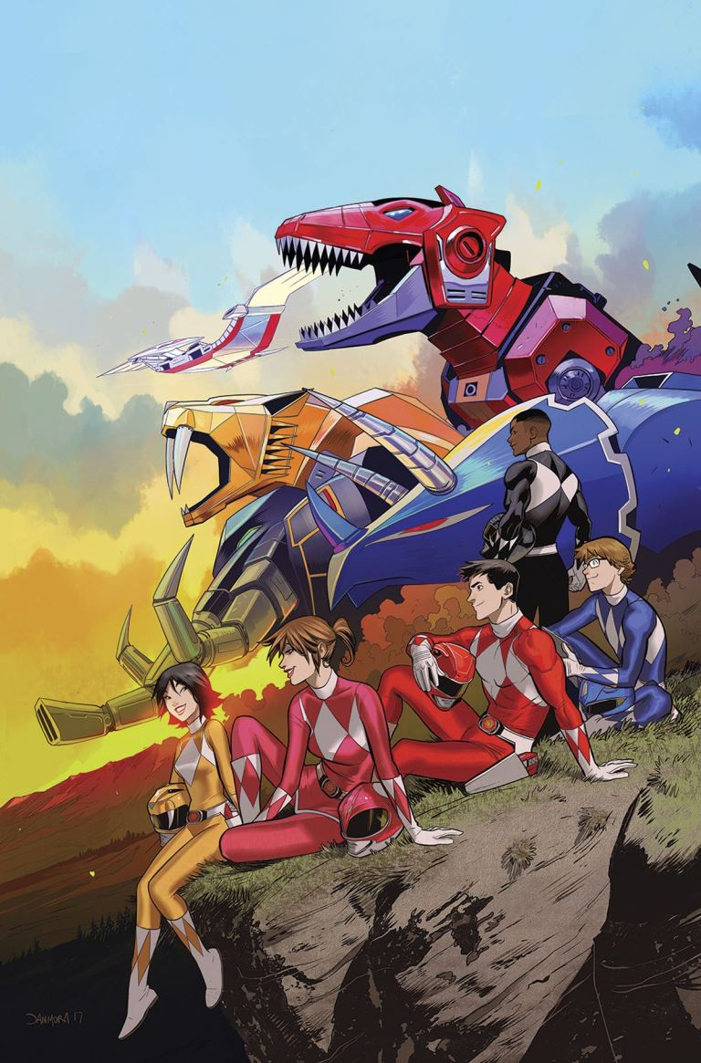 Go Go Power Rangers #2 (Cover A Dan Mora)