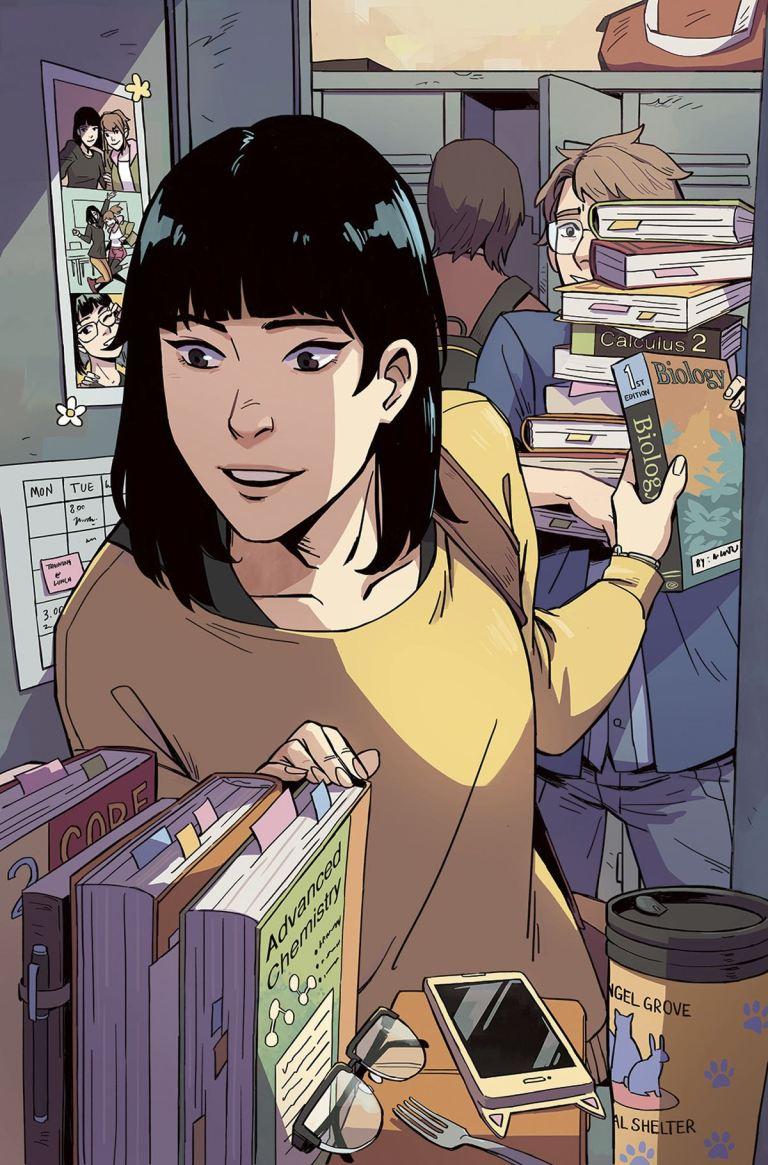 Go Go Power Rangers #2 (Cover C Michelle Wong Locker Variant)