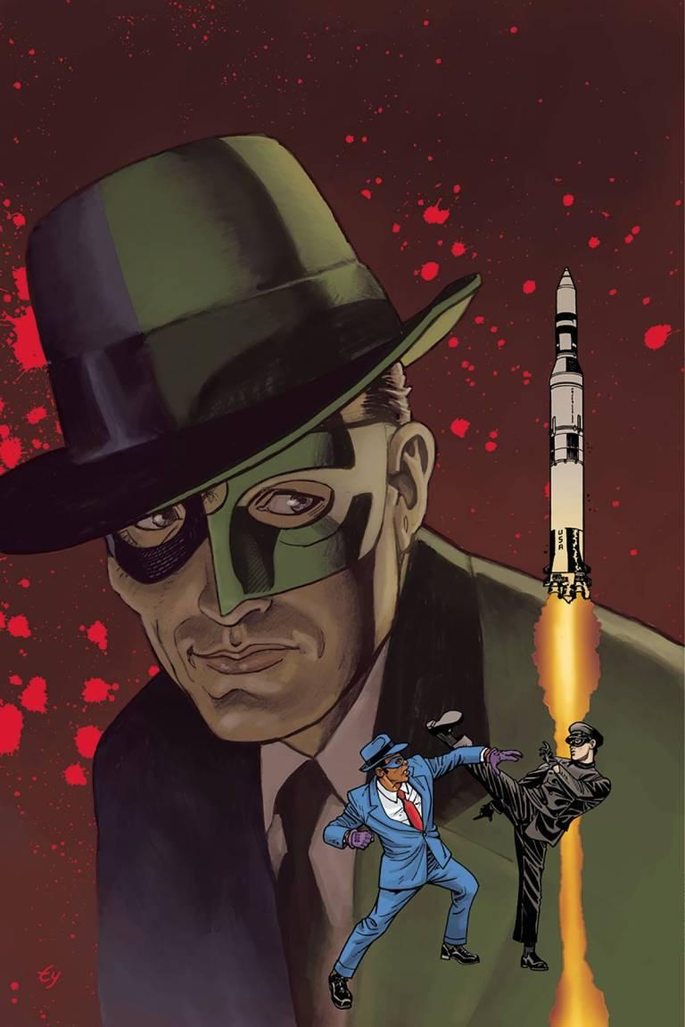 Green Hornet '66 Meets The Spirit #1 (Cover F Ty Templeton Virgin Variant)