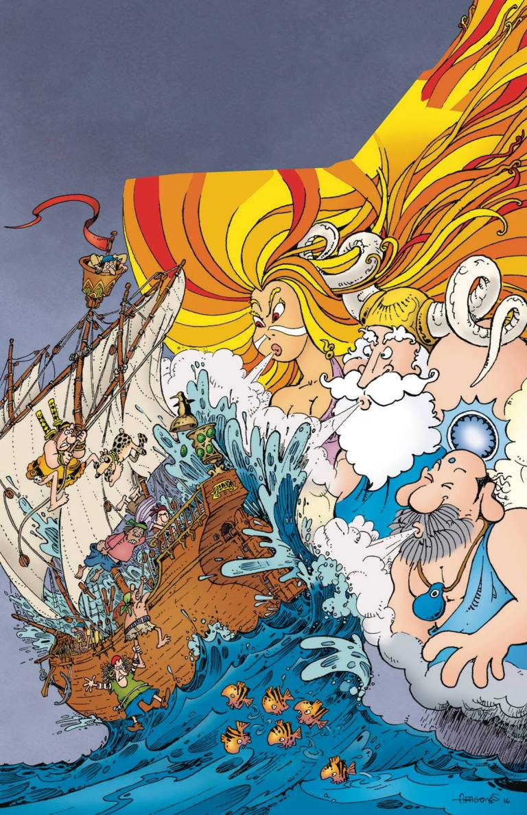 Groo Play Of The Gods #2 (Sergio Aragones Cover)