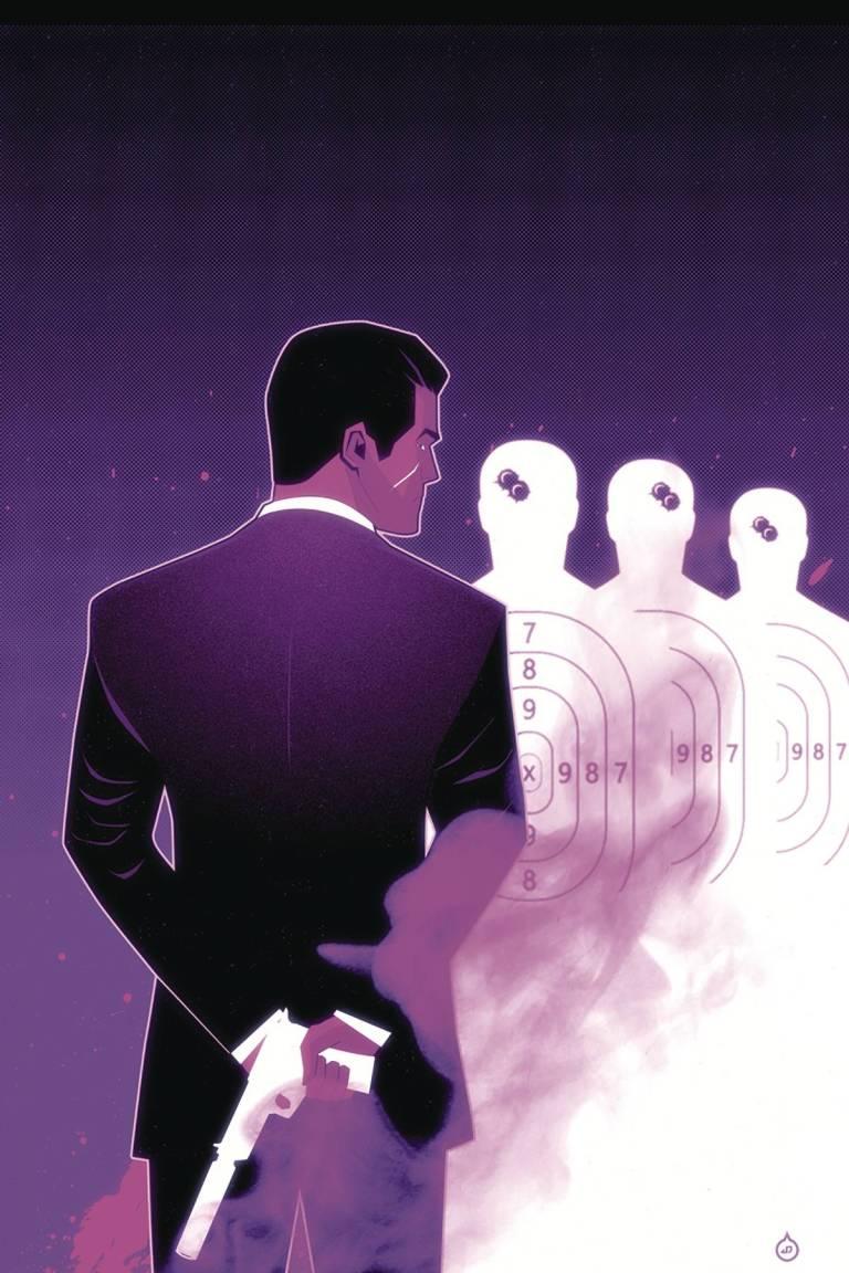 James Bond Kill Chain #1 (Cover F Juan Doe Virgin Variant)
