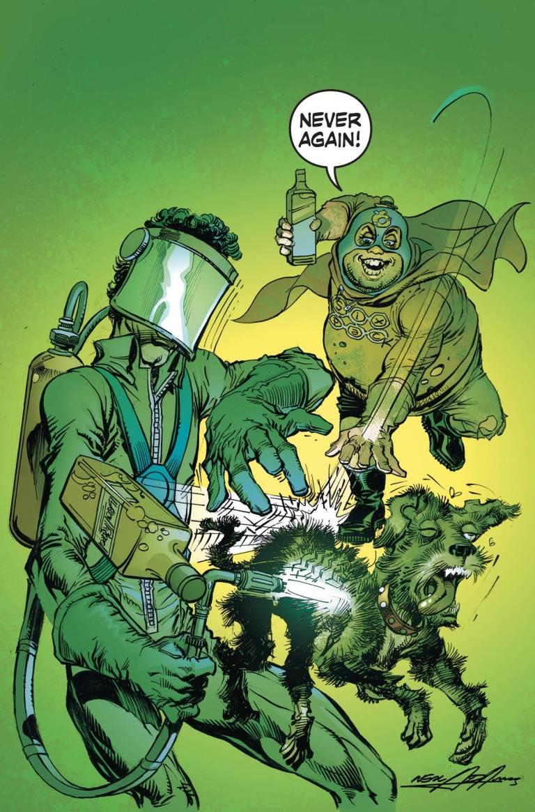 Six-Pack And Dogwelder Hard-Travelin' Heroz #1 (Cover B Neal Adams)