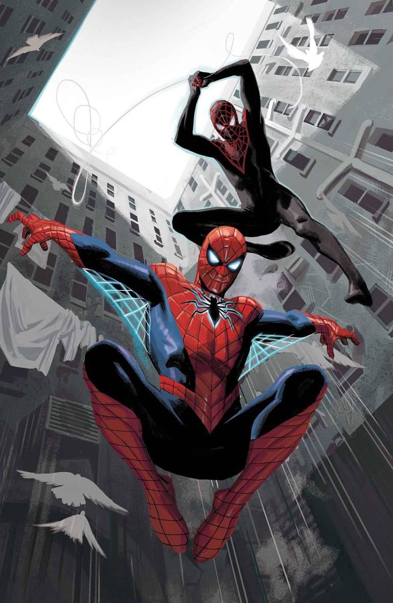 Spider-Men II #1 (Cover B Daniel Acuna)