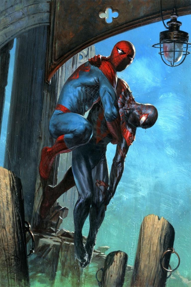 Spider-Men II #2 (Cover B Gabrielle Dell'Otto Artist Variant)