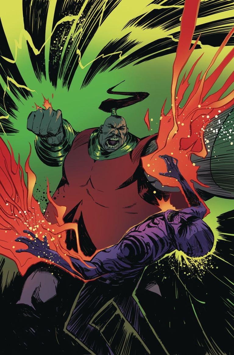 Suicide Squad's Most Wanted #5 El Diablo & Amanda Waller (Mike Huddleston Regular Cover)
