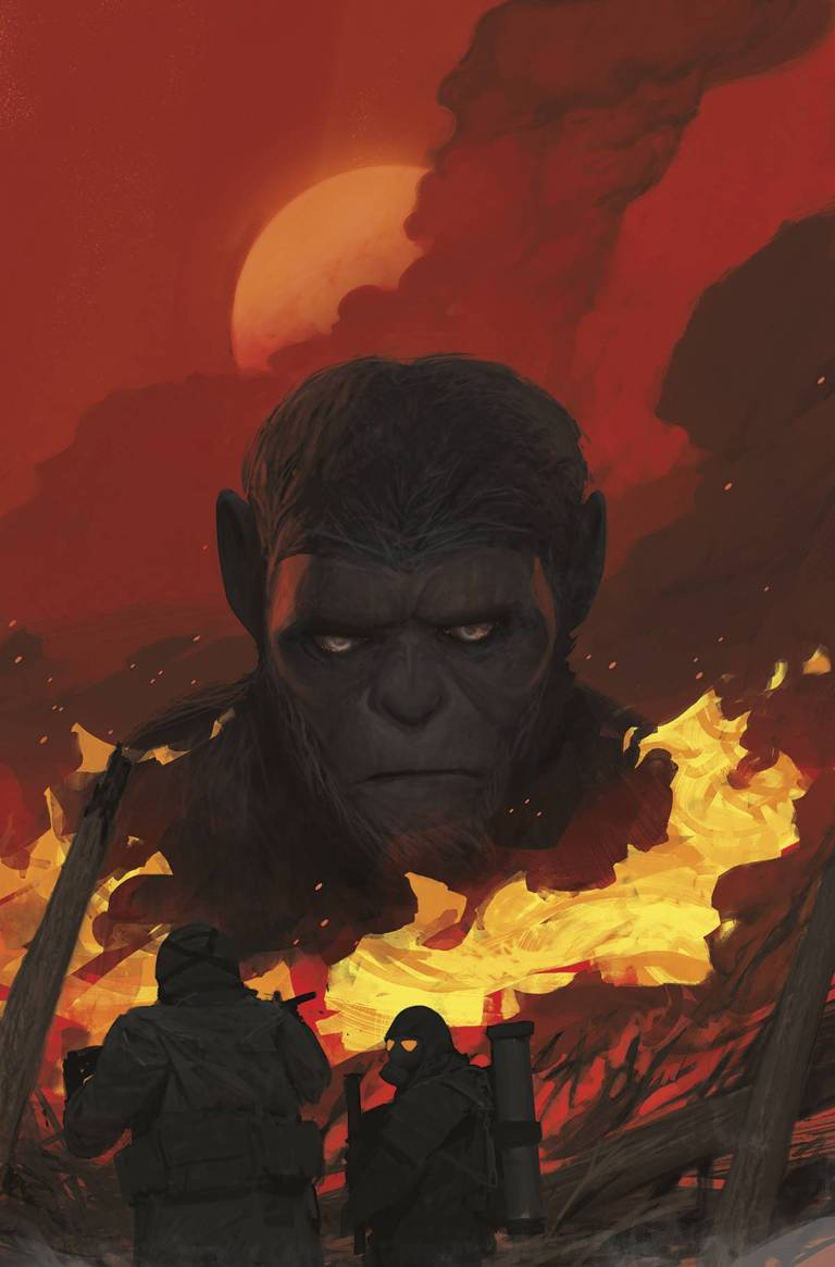 War For The Planet Of The Apes #2 (Cover A Mikhail Borulko)