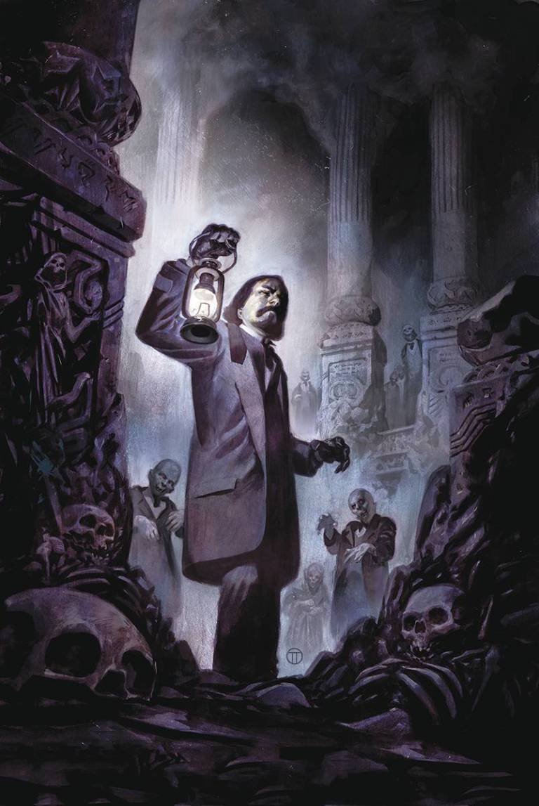 Witchfinder City Of The Dead #1 (Julian Totino Tedesco Cover)