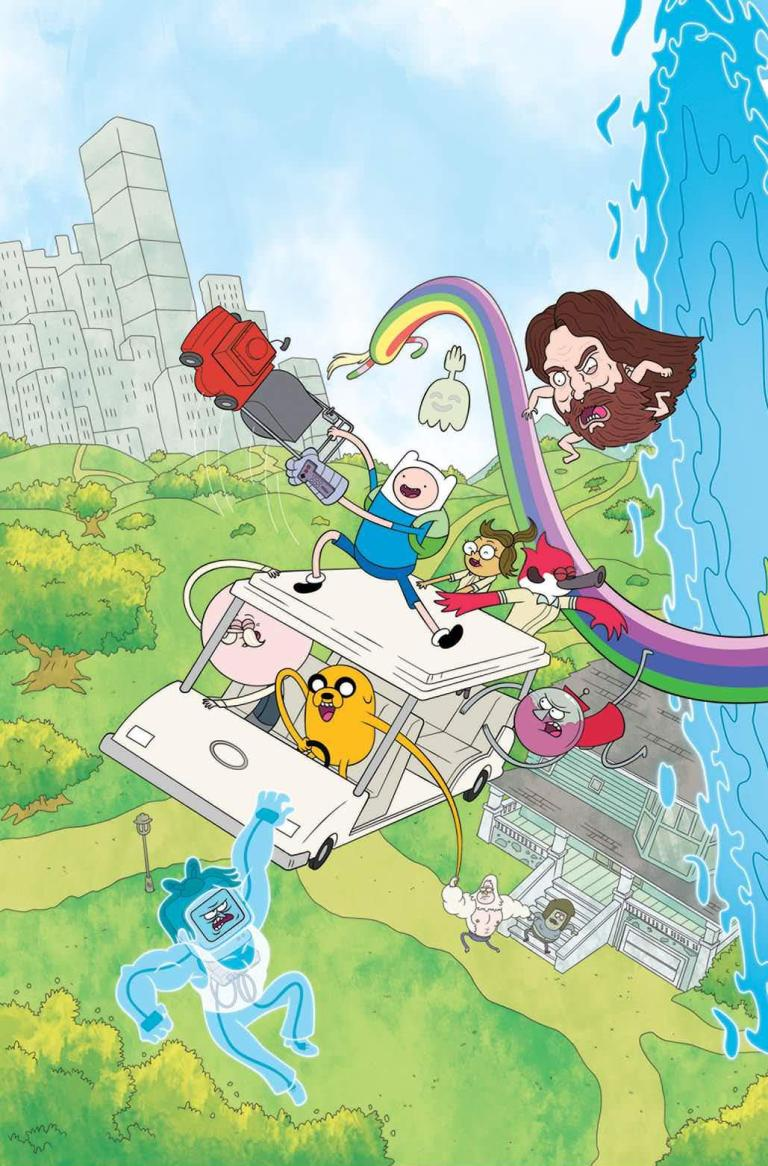 Adventure Time Regular Show #1 (Cover A Phil Murphy)